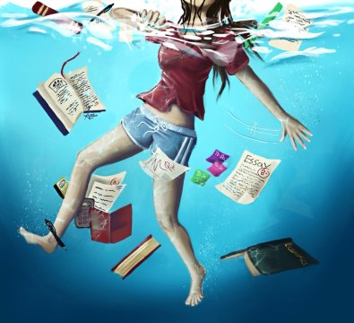 drowning_in_a_sea_of_homework_by_theforbidd3nfruit-d75f9ow